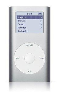 Apple iPod mini music player 4GB silver [1G] (M9160ZR/A)