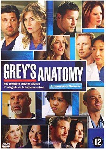 Grey\'s Anatomy Season 8 (UK) starting from £ 10.39 uk (2018 ...