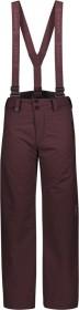 Scott Vertic Dryo Skihose lang red fudge (Junior) (277726-3850)