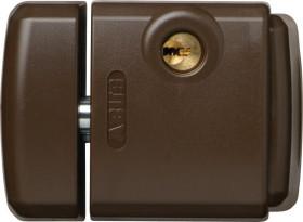 ABUS FTS3003 B EK separately lockable brown, additional locking for windows (28410)
