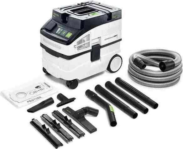 Festool CT 15 E-Set Cleantec Elektro-Nass-/Trockensauger (575988)