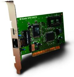 D-Link DFE-530TX, 1x 100Base-TX, PCI,  6er-Pack
