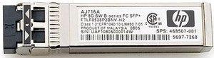 HPE B-Series 8G SAN-Transceiver, LC-Duplex SM 10km, SFP+ (AJ717A)