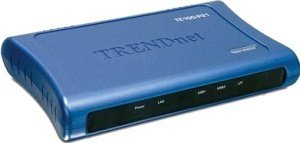 TRENDnet TE100-P21 print server, parallel/2x USB 2.0