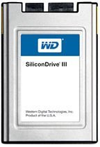 Western Digital WD SiliconDrive III 60GB, Micro SATA (SSD-F0060Sx-5000)