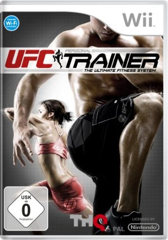UFC Trainer (niemiecki) (Wii) -- via Amazon Partnerprogramm