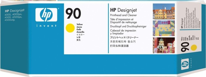 HP Printhead Nr 90 yellow (C5057A)