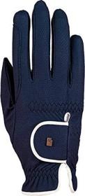 Roeckl Lona riding-gloves marine/white (3301-336-591)