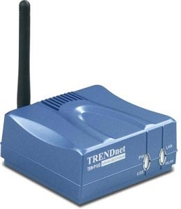 TRENDnet TEW-P1UG wireless print server, 54Mbps, USB 2.0