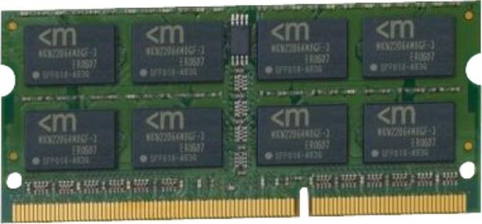 Mushkin Essentials SO-DIMM 8GB, DDR3-1333, CL9-9-9-24 (992020) -- via Amazon Partnerprogramm