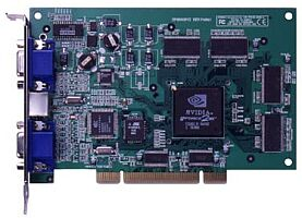 Sparkle SP6800PCI, GeForce2 MX/400, 32MB, PCI, retail