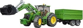Bruder Professional Series John Deere 7930 with Frontloader and Tandemaxle Tipping Trailer (03055)