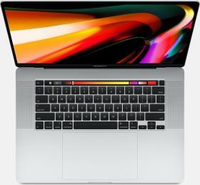 """Apple MacBook Pro 16"""" silber, Core i7-9750H, 32GB RAM, 512GB SSD, Radeon Pro 5300M [2019 / Z0Y1]"""