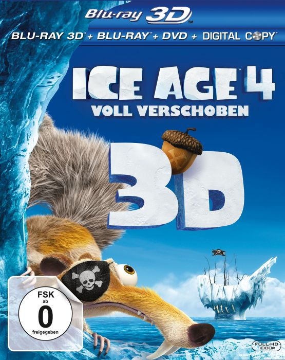 Ice Age 4 - Continental Drift (3D) (Blu-ray)