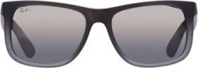 Ray-Ban RB4165 Justin Classic 55mm matte grey/silver gradient mirror (RB4165-852/88)