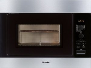 Miele M 8261-2 microwave with grill stainless steel