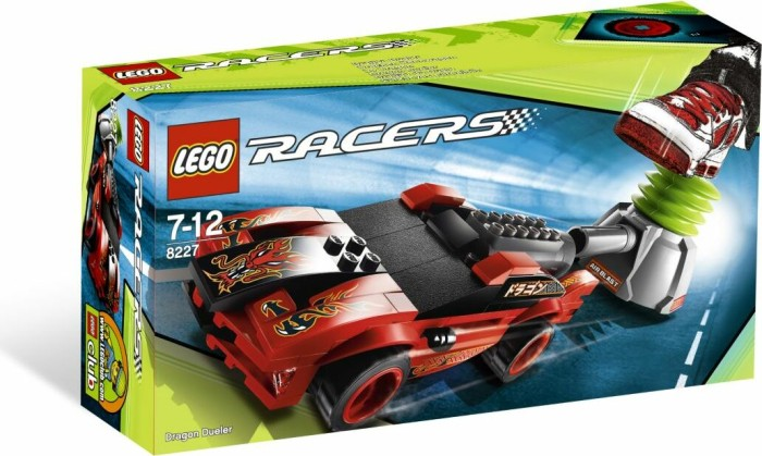 LEGO Racers - Drachen Rennwagen (8227) -- via Amazon Partnerprogramm