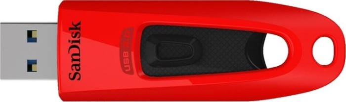 SanDisk Ultra 64GB rot, USB-A 3.0 (SDCZ48-064G-U46R)