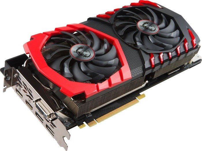 MSI GeForce GTX 1080 Ti Gaming X 11G, 11GB GDDR5X, DVI, 2x HDMI, 2x DisplayPort (V360-001R)