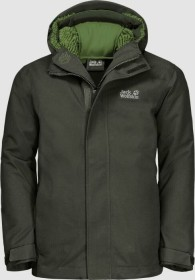 Jack Wolfskin Drei Berge Jacke antique green (Junior) (1608081-4018)