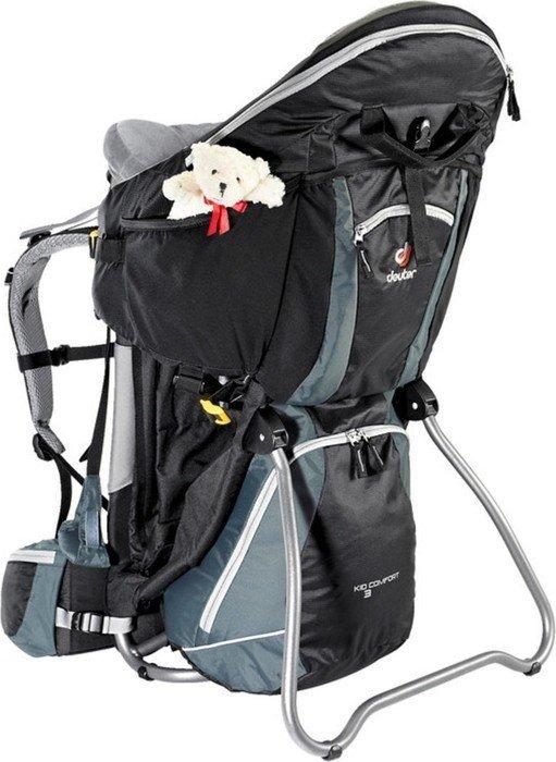 6bb441143ae Deuter Kid Comfort III baby carrier black grey (36524-7410) starting ...