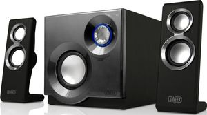 Sweex SP210 Purephonic, 2.1 System, silber