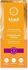 Khadi hair colour Sonnenblond, 100g