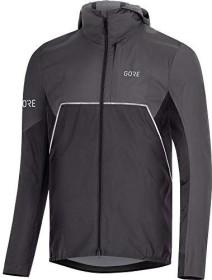 Gore Wear R7 Partial Gore-Tex Infinium Kapuzenjacke black/terra grey (Herren) (100459-990R)