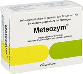 Meteozym Filmtabletten, 100 Stück