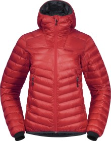 Bergans Senja Down Light Jacke light dahlia red/solid dark grey (Damen) (8747-13710)
