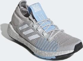 adidas Pulse Boost HD grey one/cloud white/glow blue (Damen) (G26937)