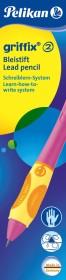 Pelikan griffix Bleistift HB Linkshänder, Berry (956060)
