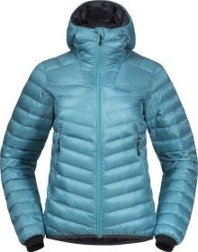Bergans Senja Down Light Jacke light glacier lake/solid dark grey (Damen) (8747-13706)