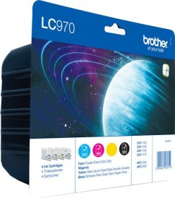 Brother Tinte LC970 Value Pack (LC970VALBPDR)