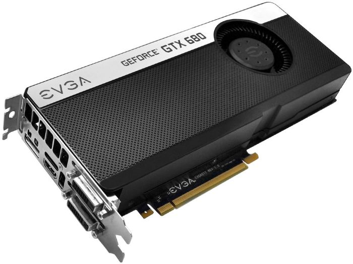 EVGA GeForce GTX 680 SC Signature+, 2GB GDDR5, 2x DVI, HDMI, DisplayPort (02G-P4-2685)