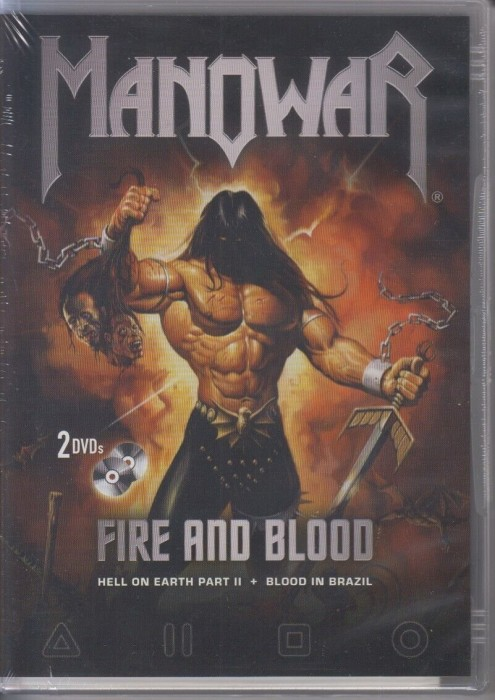 Manowar - Fire And Blood -- via Amazon Partnerprogramm