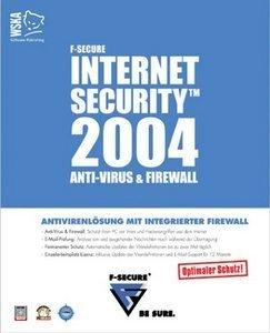 F-Secure Internet Security 2004 - 5 użytkowników (PC)
