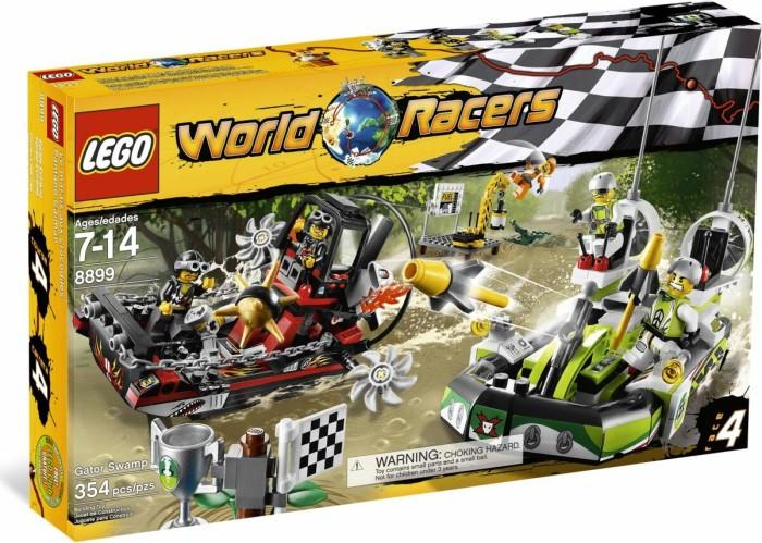 LEGO World Racers - Gefahr im Krokodil-Sumpf (8899) -- via Amazon Partnerprogramm
