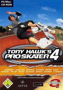 Tony Hawk's Pro Skater 4 (niemiecki) (PC/MAC)