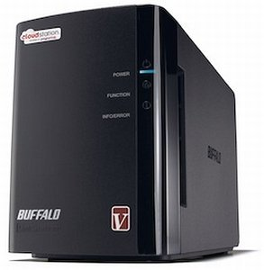 Buffalo Cloudstation Duo 2000GB, Gb LAN (CS-WX2.0/R1-EU)