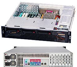 Supermicro 825MTQ-R700LPB black, 2U, 700W redundant