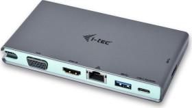 i-tec Travel Dock, RJ-45, USB-C 3.0 [Stecker] (C31TRAVELDOCKPD)