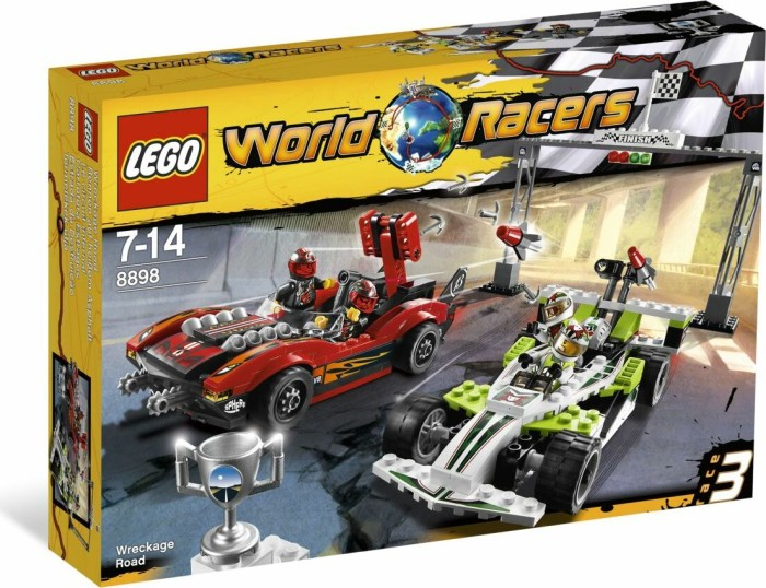 LEGO World Racers - Rennen auf heißem Asphalt (8898) -- via Amazon Partnerprogramm