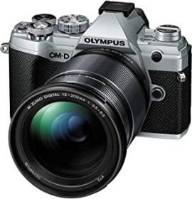 Olympus OM-D E-M5 Mark III silber mit Objektiv M.Zuiko digital ED 12-200mm 3.5-6.3 (V207090SE010)