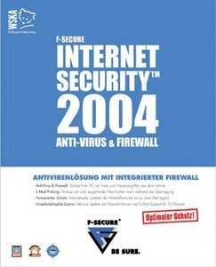 F-Secure: Internet Security 2004 (various languages) (PC)