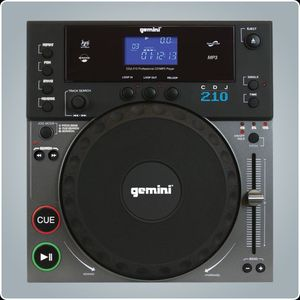 Gemini CDJ-210 CD turntable black