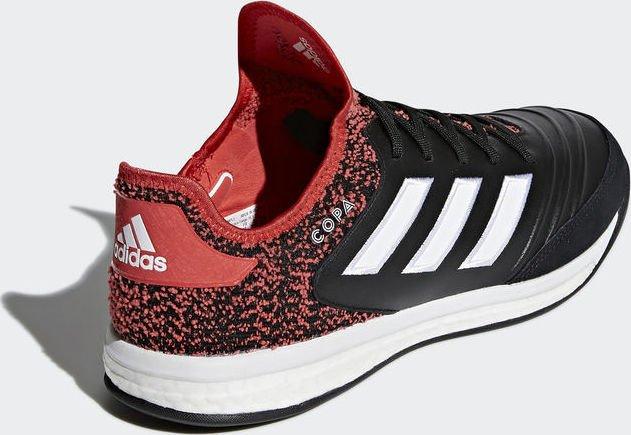 adidas Herren Copa Tango 18.1 TR Fußballschuhe, Schwarz (Core Black/Footwear White/Real Coral), 42 EU