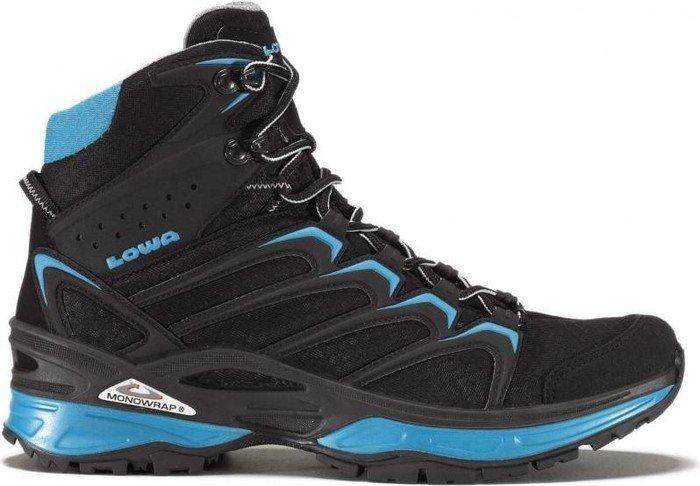 LOWA Innox GTX Mid Outdoor Fitness schwarz blau ware