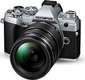Olympus OM-D E-M5 Mark III silber mit Objektiv M.Zuiko digital ED 12-40mm 2.8 PRO (V207090SE020)