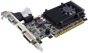 EVGA GeForce GT 520, 2GB DDR3, VGA, DVI, HDMI (02G-P3-1529)